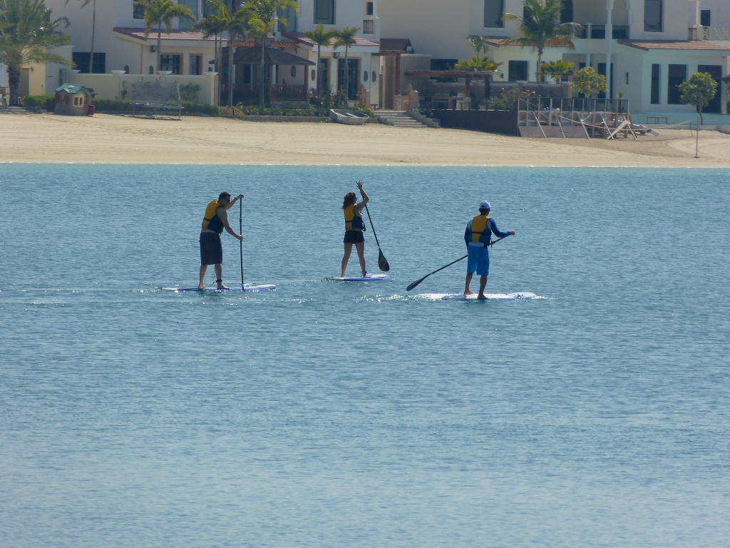 Sup Group Activity Palm Jumeirah Duba 239 Seayou Uea