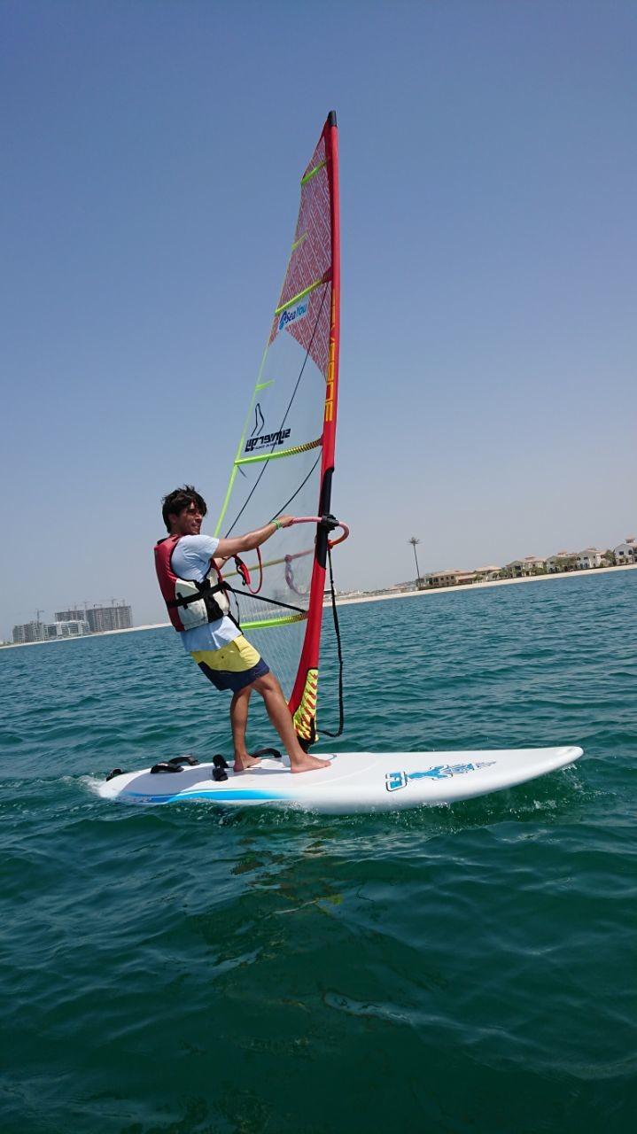 Windsurfing lessons & rentals ,Palm Jumeirah, Dubai | SeaYou UAE